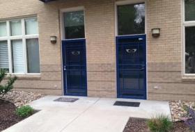 metal -door
